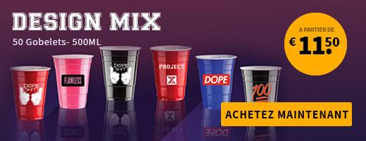 Design Mix Party Cups