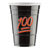 100 EMOJI - BLACK CUPS (50 cups) Limited Edition