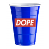 DOPE DESIGN - BLUE CUPS (50 cups) Limited Edition