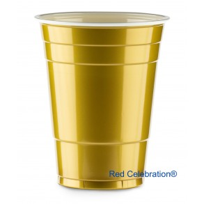 Gold Party Cups (25 cups)