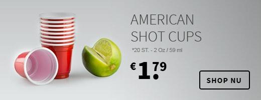 American Shot Cups
