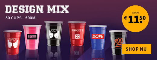 Design Mix Party Cups